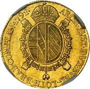 1 Sovrano - Leopold II -  obverse