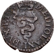 1 Quattrino - Carlo II – reverse