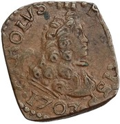 1 Quattrino - Carlo III – obverse