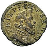 1 Quattrino - Filippo III – obverse