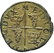 1 Quattrino - Filippo III – reverse