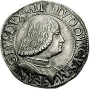 1 Teston - Ludovico Maria Sforza – obverse