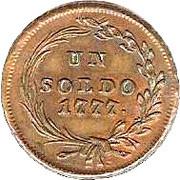 1 Soldo - Maria Theresia – reverse