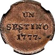 1 Sestino - Maria Theresia – reverse