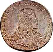 1 Filippo - Carlos II – obverse