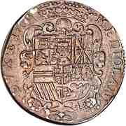 1 Filippo - Carlos II – reverse