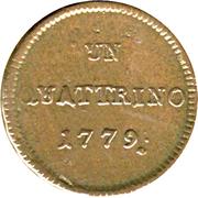 1 Quattrino - Maria Theresia – reverse