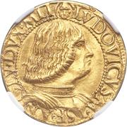 2 Ducati - Ludovico Maria Sforza – obverse
