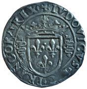 Grosso Regale de 3 Soldi - Luigi XII – obverse