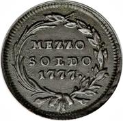 ½ Soldo - Maria Theresia – reverse