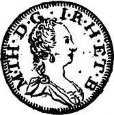 5 Soldi - Maria Theresa – obverse