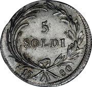 5 Soldi - Maria Theresia -  obverse