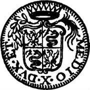 10 Soldi - Carlo III – reverse