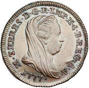 10 Soldi - Maria Theresia – obverse