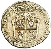 ½ Scudo - Filippo II – reverse