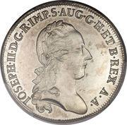 1 Lira - Joseph II – obverse