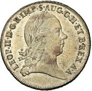 1 Lira - Leopold II – obverse