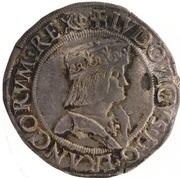 1 Testone - Louis XII – obverse