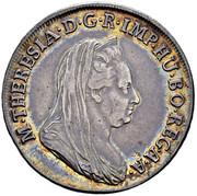 ½ Scudo - Maria Theresa -  obverse