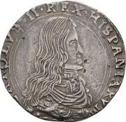 ½ Filippo - Carlos II – obverse