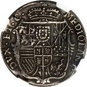 ½ Filippo - Carlo III – reverse