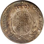 1 Scudo - Maria Theresia – reverse