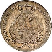 1 Scudo - Joseph II -  reverse