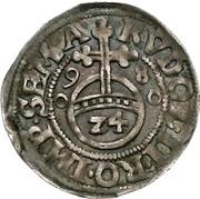 1/24 Thaler, 1 Reichsgroschen - Anton of Schaumburg – reverse