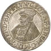 1 Thaler - Georg von Braunschweig-Wolfenbüttel – obverse