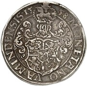 1 Thaler - Georg von Braunschweig-Wolfenbüttel – reverse