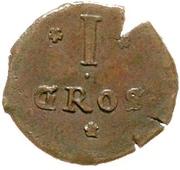 1 Mariengroschen (Siege coinage) – reverse