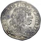 1 Lira - Alessandro II – obverse