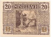 20 Heller (Mistelbach) -  obverse