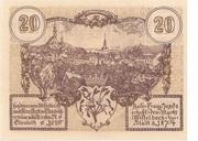 20 Heller (Mistelbach) -  reverse