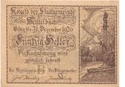 50 Heller (Mistelbach) -  obverse