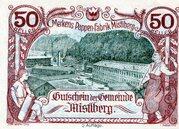 50 Heller (Mistlberg) -  obverse