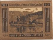 10 Heller (Mitter-Arnsdorf) -  obverse