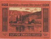 20 Heller (Mitter-Arnsdorf) -  obverse