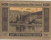 50 Heller (Mitter-Arnsdorf) -  obverse