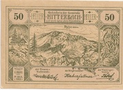 50 Heller (Mitterbach) -  obverse