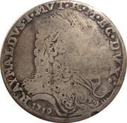 Scudo of 103 Bolognini - Rinaldo I – obverse
