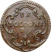 1 Bolognino - Ercole III d'Este – reverse