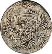 ½ Lira - Francesco I – reverse