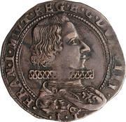 1 Lira - Francesco I – obverse