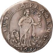 1 Lira - Francesco I – reverse
