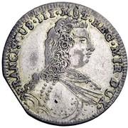 1 Lira - Francesco III d'Este – obverse