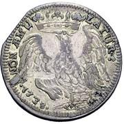 1 Lira - Francesco III d'Este – reverse