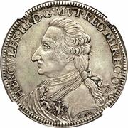 1 Tallero - Ercole III d'Este – obverse