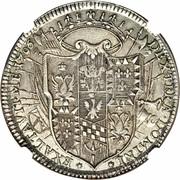 1 Tallero - Ercole III d'Este – reverse