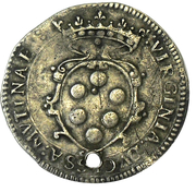 6 Bolognini - Cesare d Este – reverse